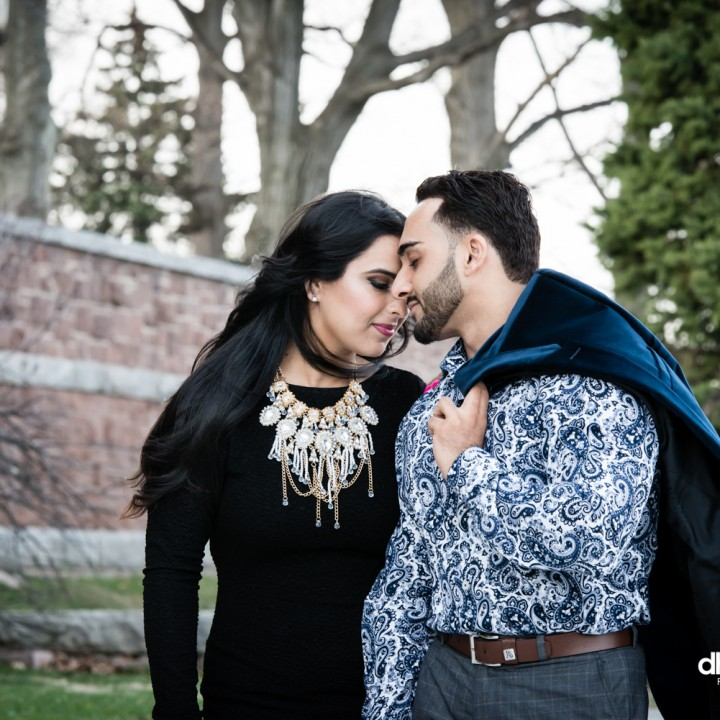 Misba + Faisal Engagement Session | Lambert Castle | New Jersey | 04.13.15