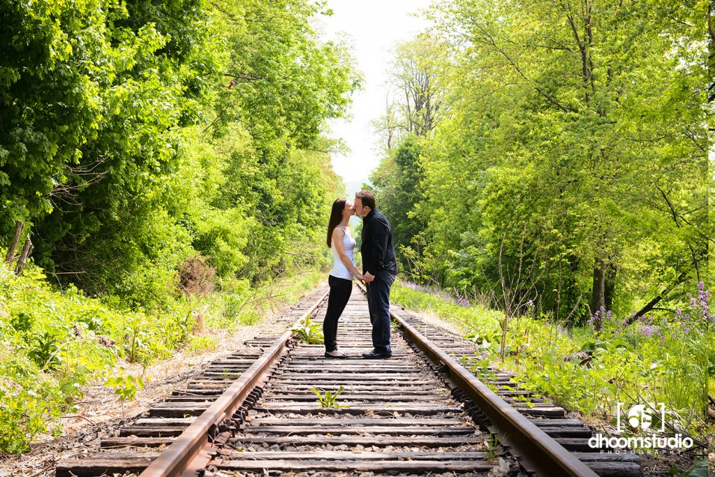 DSC_9117_lr-1024x683 Heather + Sean Engagement Session | Freight Rail, Fishkill, NY. 05.21.13