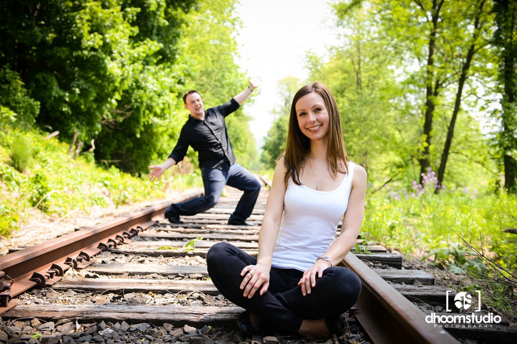 DSC_9252_lr-1024x683 Heather + Sean Engagement Session | Freight Rail, Fishkill, NY. 05.21.13