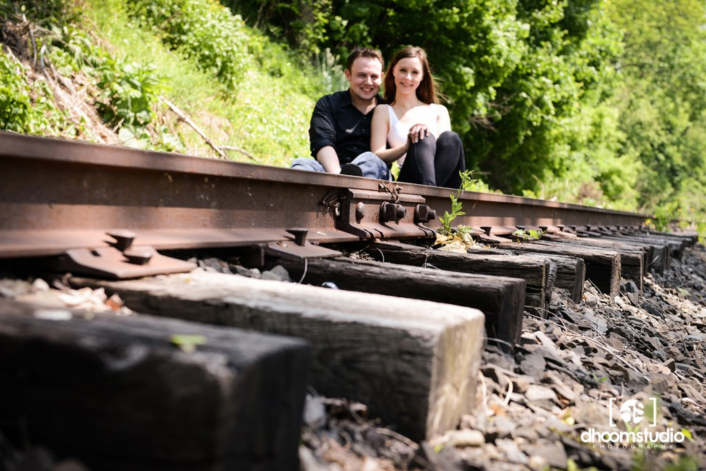DSC_9293_lr-1024x683 Heather + Sean Engagement Session | Freight Rail, Fishkill, NY. 05.21.13