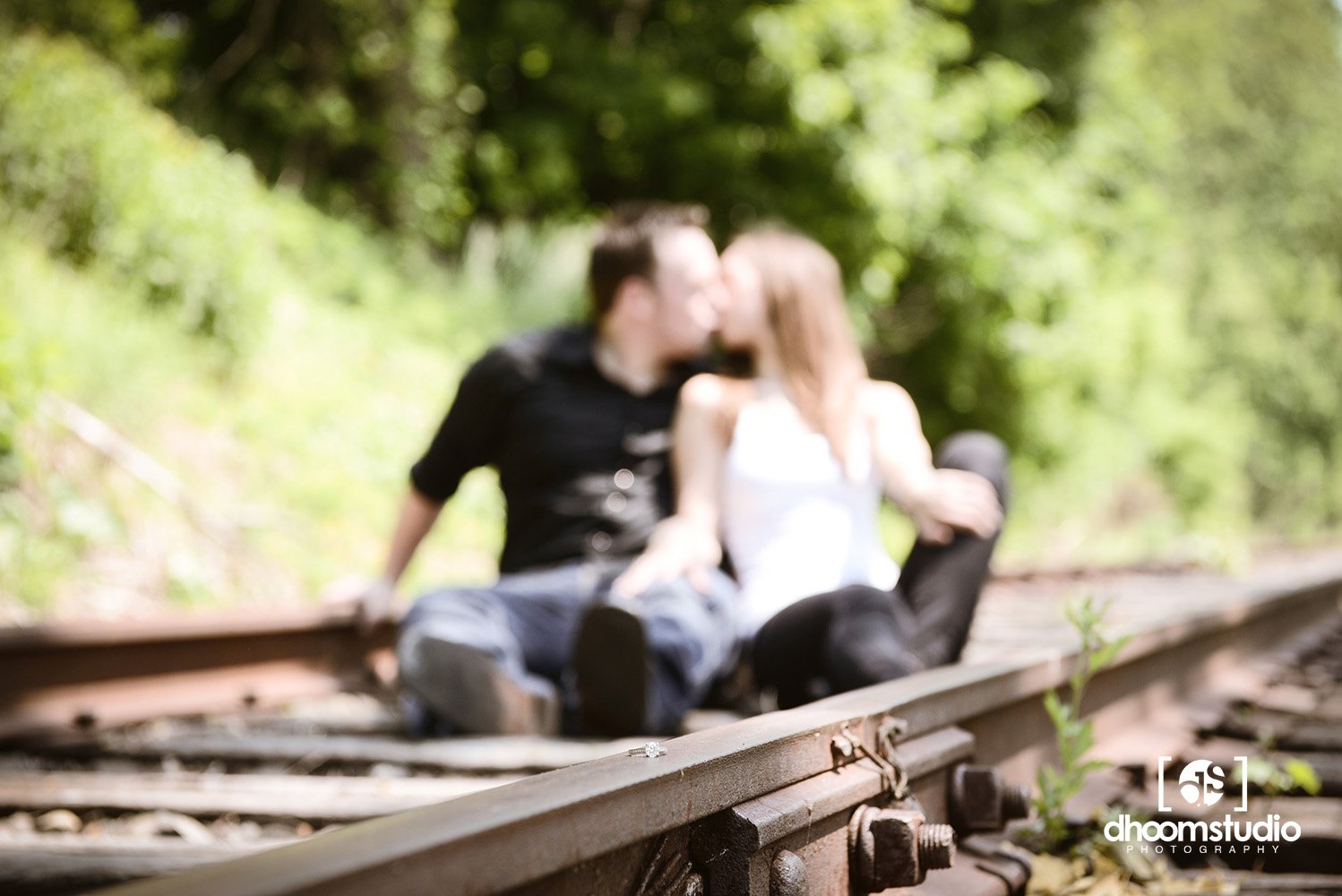 Heather + Sean Engagement Session | Freight Rail, Fishkill, NY. 05.21.13
