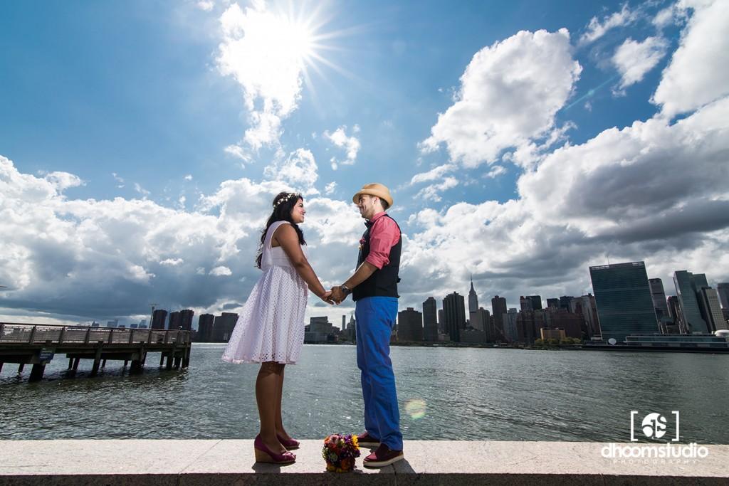 Samia-John-Ceremony-9-1024x683 Samia + John Ceremony | Gantry Plaza State Park | Long Island City | 08.13.14