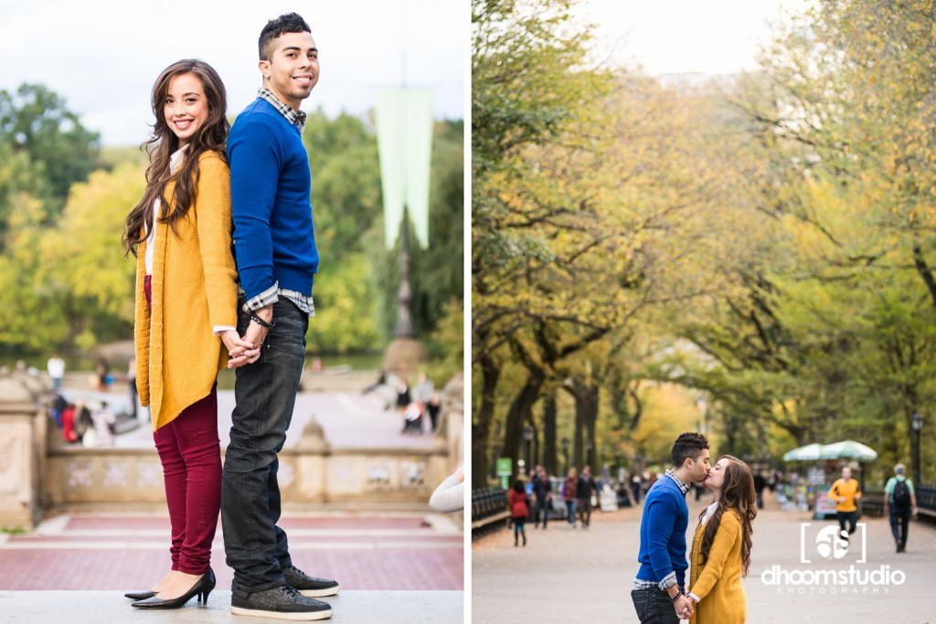 Kia-Ken-Engagement-39-1024x683 Kia + Ken Engagement Session | Central Park, New York | 10.17.13