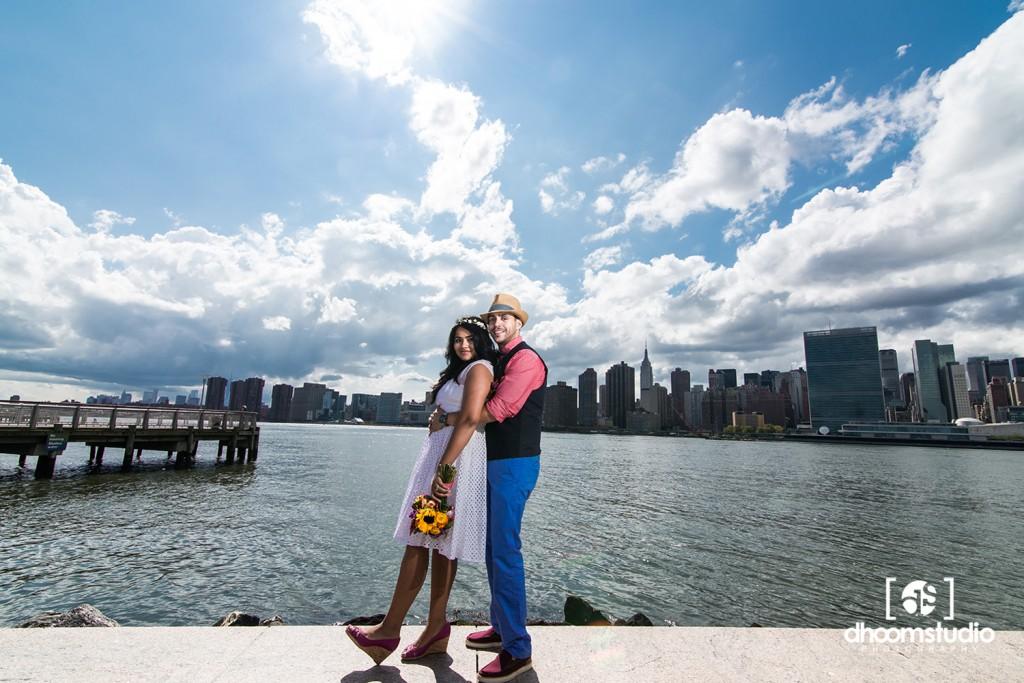Samia-John-Ceremony-101-1024x683 Samia + John Ceremony | Gantry Plaza State Park | Long Island City | 08.13.14