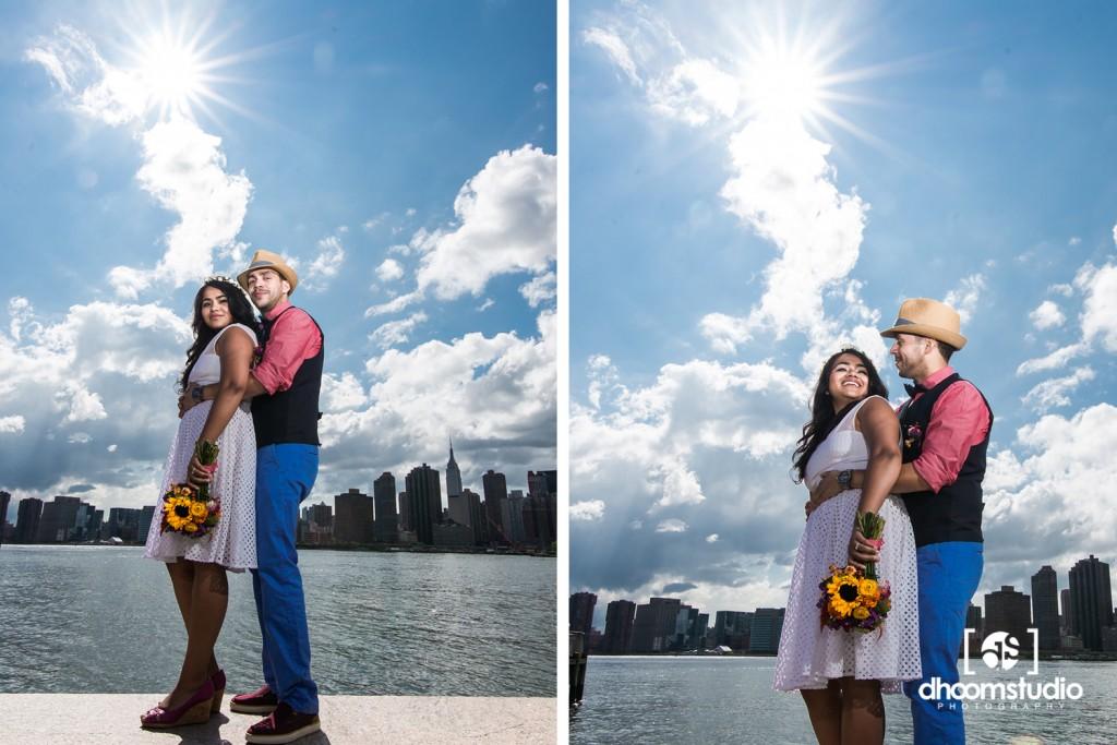 Samia-John-Ceremony-11-1024x683 Samia + John Ceremony | Gantry Plaza State Park | Long Island City | 08.13.14