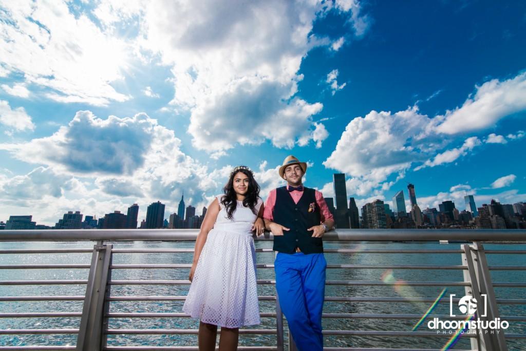 Samia-John-Ceremony-21-1024x683 Samia + John Ceremony | Gantry Plaza State Park | Long Island City | 08.13.14
