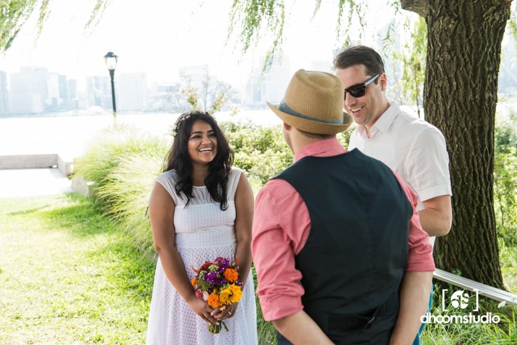Samia-John-Ceremony-44-1024x683 Samia + John Ceremony | Gantry Plaza State Park | Long Island City | 08.13.14