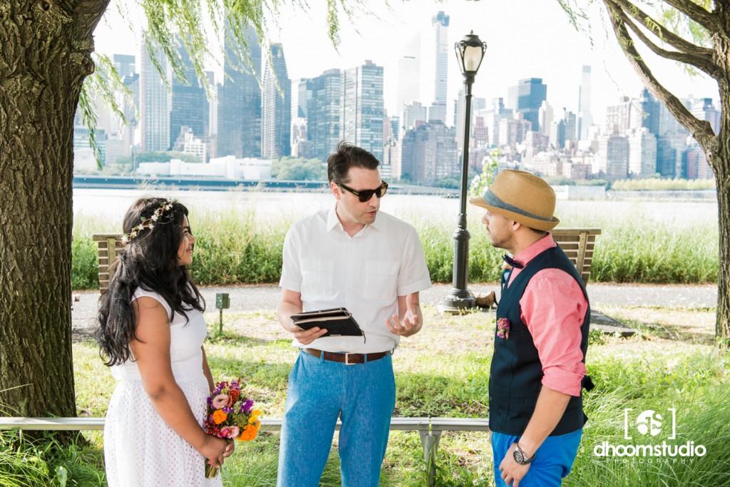 Samia-John-Ceremony-45-1024x683 Samia + John Ceremony | Gantry Plaza State Park | Long Island City | 08.13.14