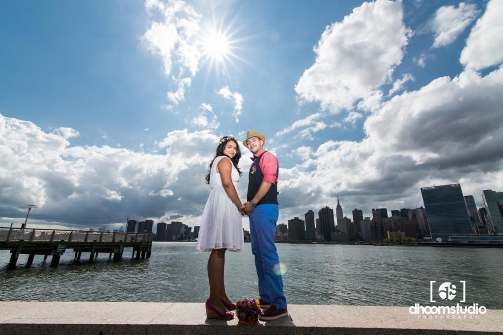 Samia-John-Ceremony-8-1024x683 Samia + John Ceremony | Gantry Plaza State Park | Long Island City | 08.13.14