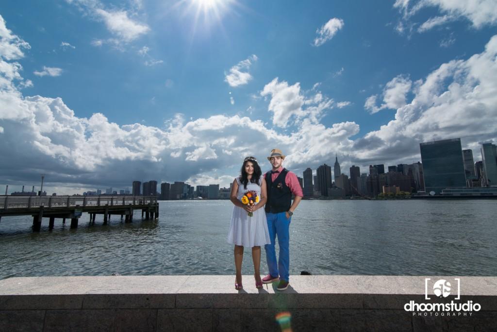 Samia-John-Ceremony-9A-1024x683 Samia + John Ceremony | Gantry Plaza State Park | Long Island City | 08.13.14
