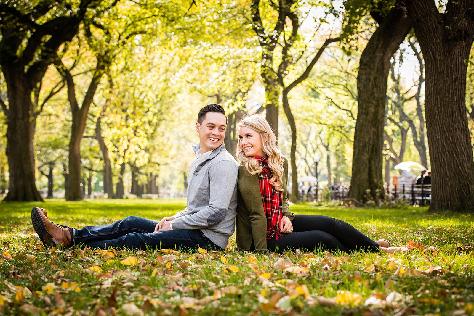 Best-Engagement-Photographer-Central-Park Engagement