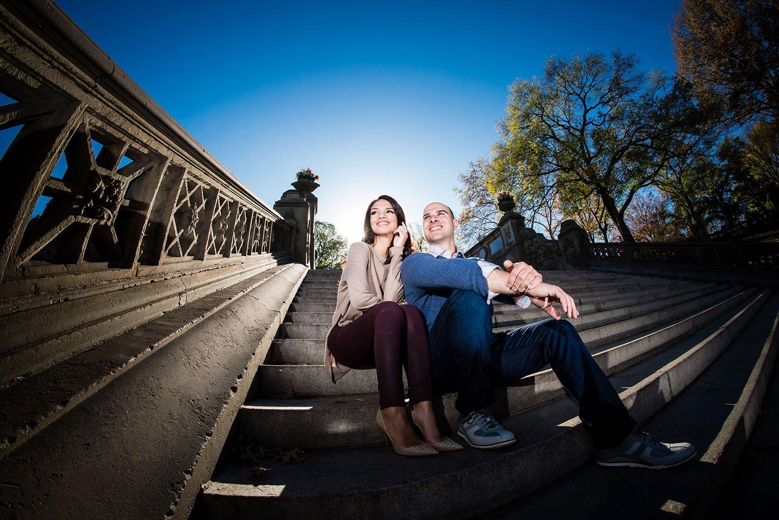 Central-Park-Engagement-Photographer Engagement
