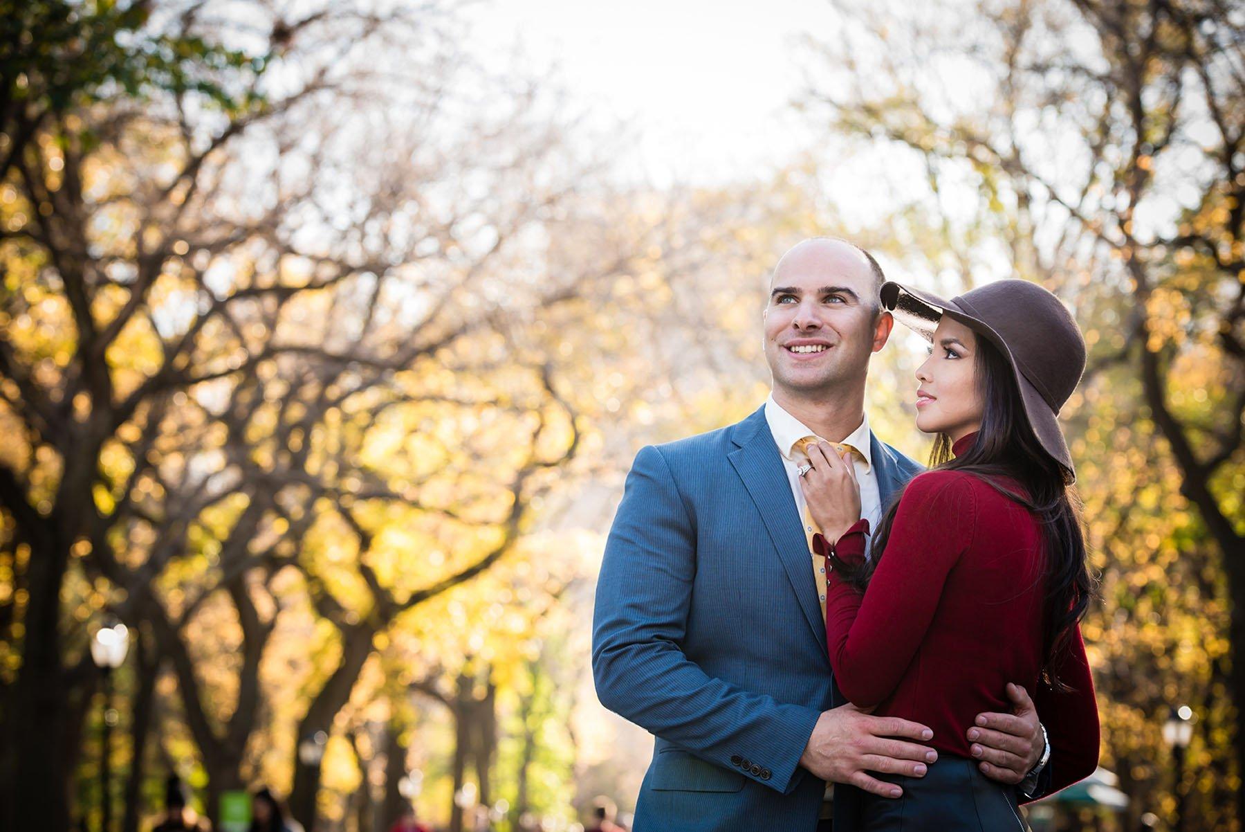 Central-Park-Engagement-Shoot Engagement