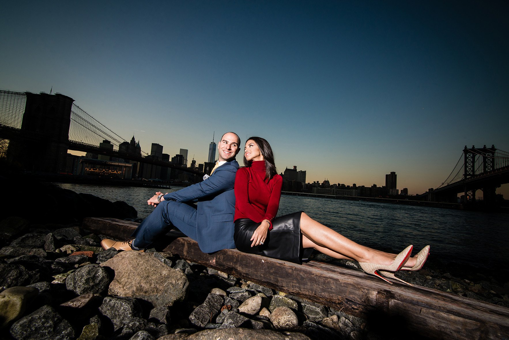 Pre-Wedding-Photo-DUMBO Engagement